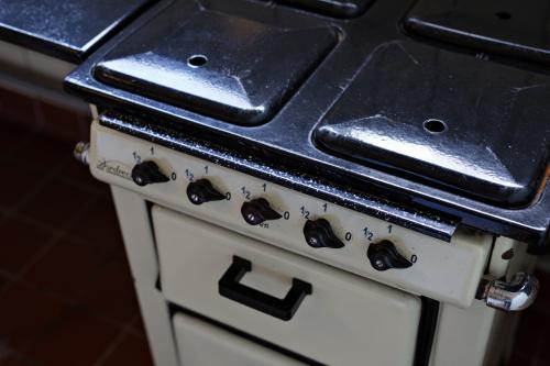Gas stove 'Dordrecht', 1925-35. Photo Johannes Schwartz