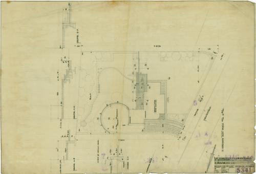 Brinkman en Van der Vlugt. Garden design. Collection Het Nieuwe Instituut. BROX 93t9