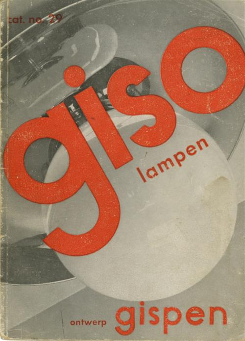 Cover Giso catalogue, 1929. Collection Het Nieuwe Instituut