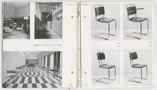 Gispen furniture catalogue no. 52. Collection Het Nieuwe Instituut.