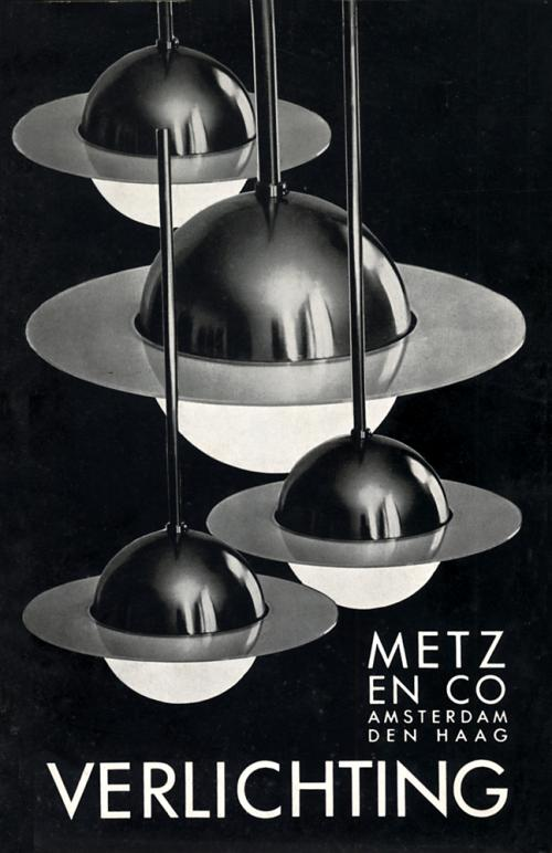 Cover Metz & Co. catalogue. Verlichting, ca. 1934. Collection Het Nieuwe Instituut, BERK A1