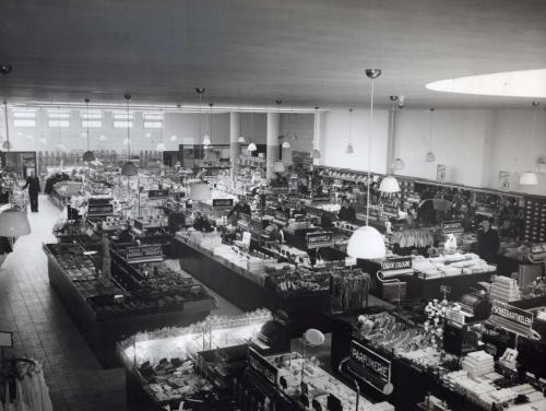 Interior of HEMA Eindhoven, 1937. Photographer unknown. Collection Spaarnestad Photo