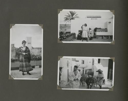 Page from one of the family photo albums. Collection Het Nieuwe Instituut, loan BIHS